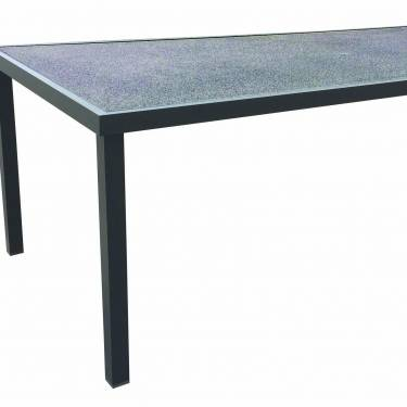 TABLE RECTANGULAIRE  220 CM PIERRE PROJETEE