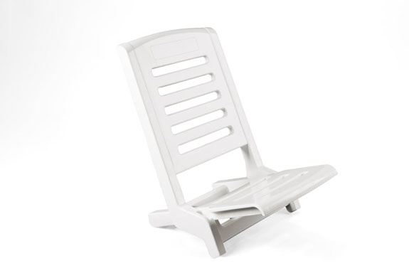 Chaise de plage pliante en plastique table de lit - Chaise pliante plastique ...